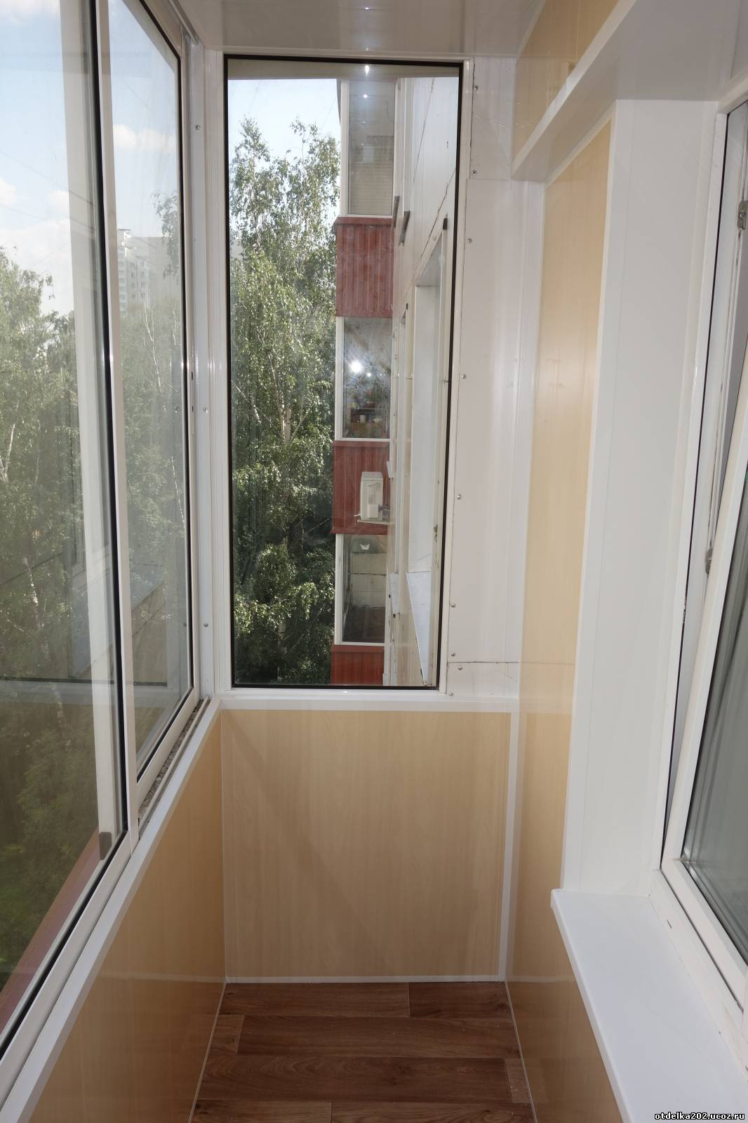 Отделка балкона фото ii 18 12. - остекление - каталог статей.